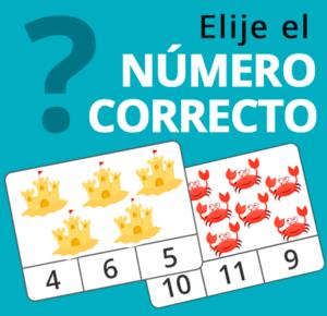 elegir el numero correcto