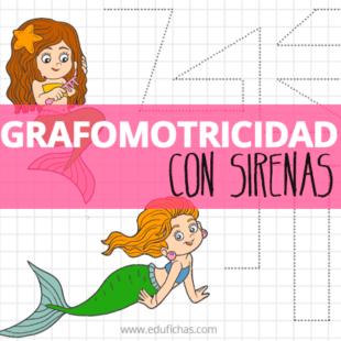 grafomotricidad con sirenas