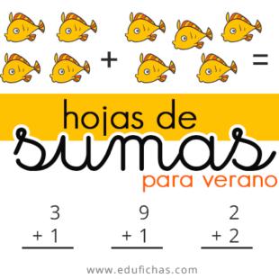 Hojas de sumas para verano