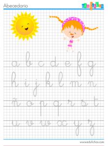abecedario verano repasar
