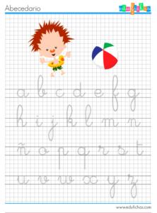 abecedario verano niños