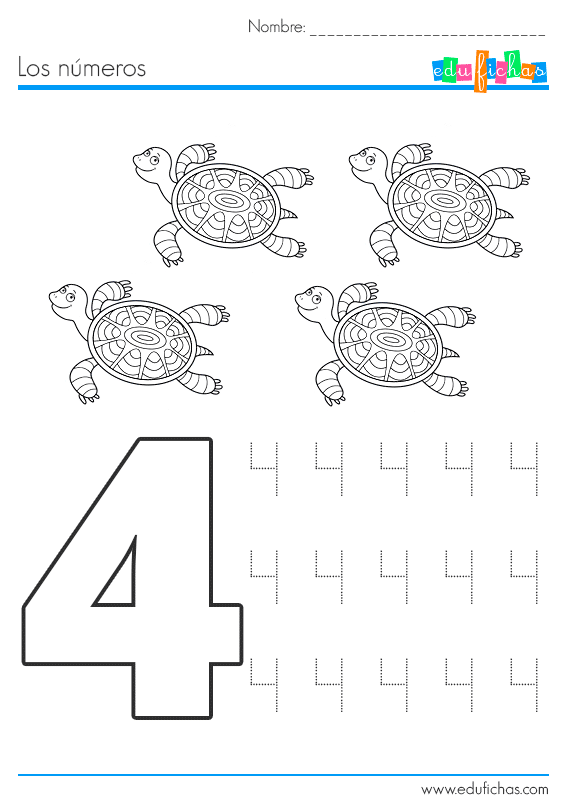 numeros en ingles para ninos del 1 al 10