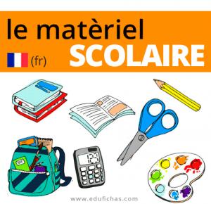 vocabulario escolar francés