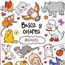 busca y colorea animales
