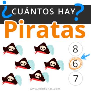 Cuantos hay con dibujos de piratas