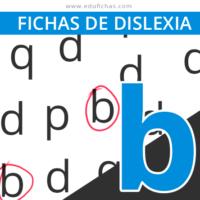 dislexia letra b
