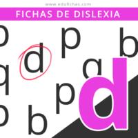 dislexia letra d