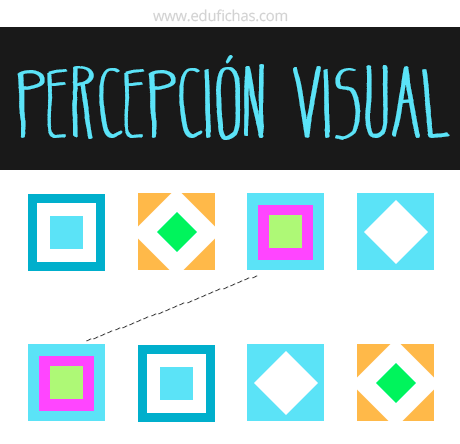 percepcion visual fichas