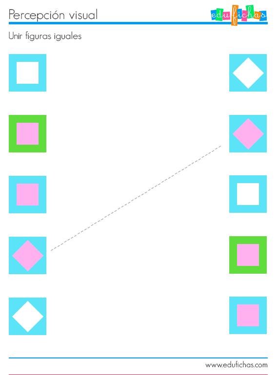 fichas de percepción visual