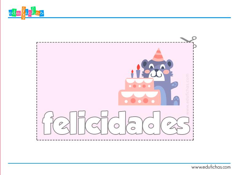 tarjetas cumpleaños gratis