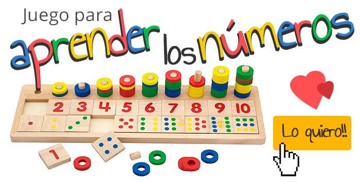 juego aprender numeros