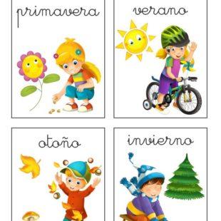 las estaciones en español
