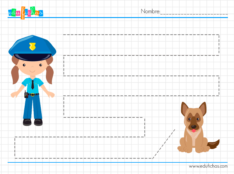 fichas grafo policias
