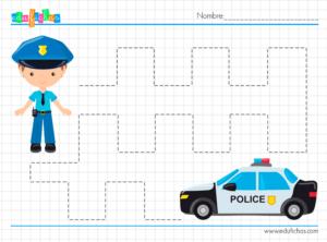 fichas repasar policias