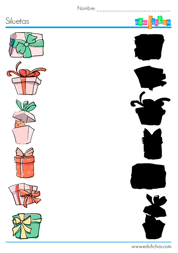 fichas navidad vacaciones 2017