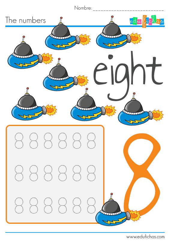 worksheets para niños con los numeros