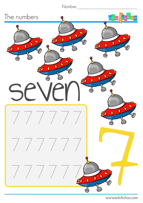 aprender los numbers en ingles para niños