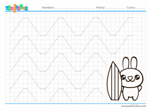 cuadernillo de grafomotricidad para niños