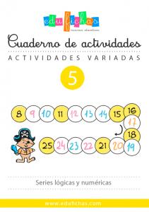 cuaderno series logicas y de numeros