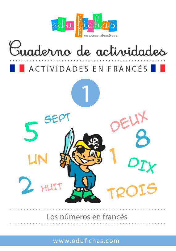 cuaderno numeros en francés