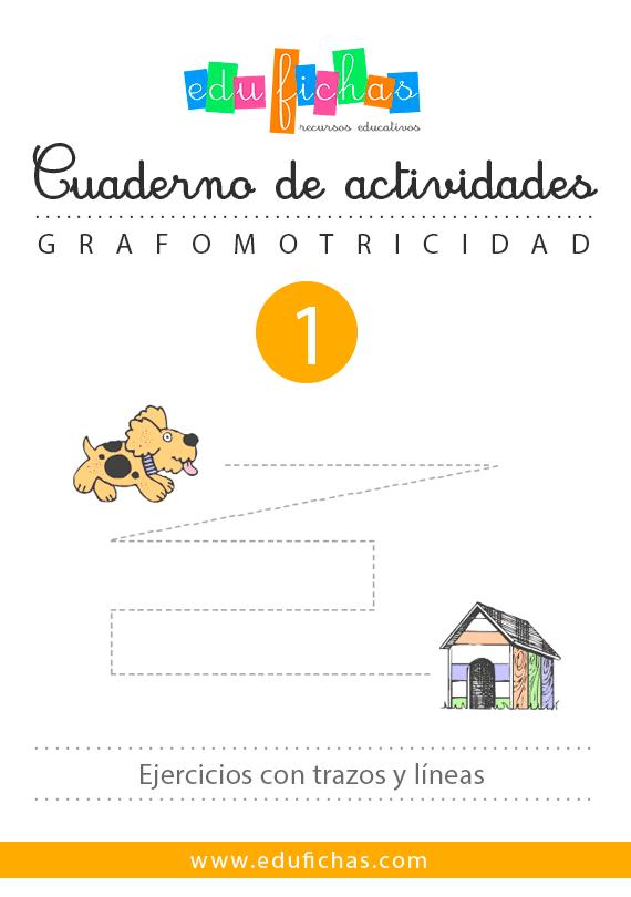 ▷ Cuadernillo de Grafomotricidad 1 | Descargar PDF para Niños