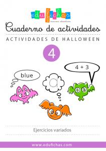 cuaderno de halloween 4
