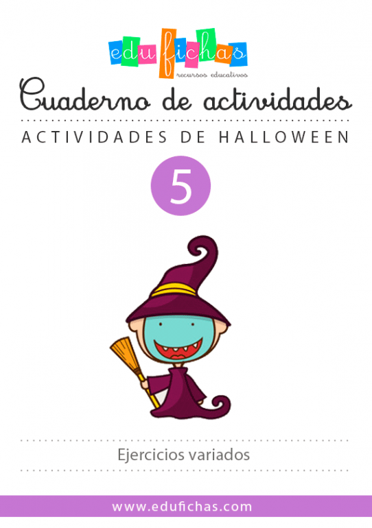 cuaderno halloween n5