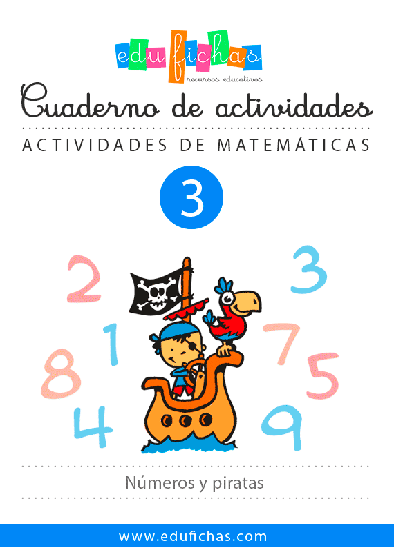 cuaderno piratas matematicas
