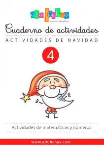 cuaderno de los numeros de navidad