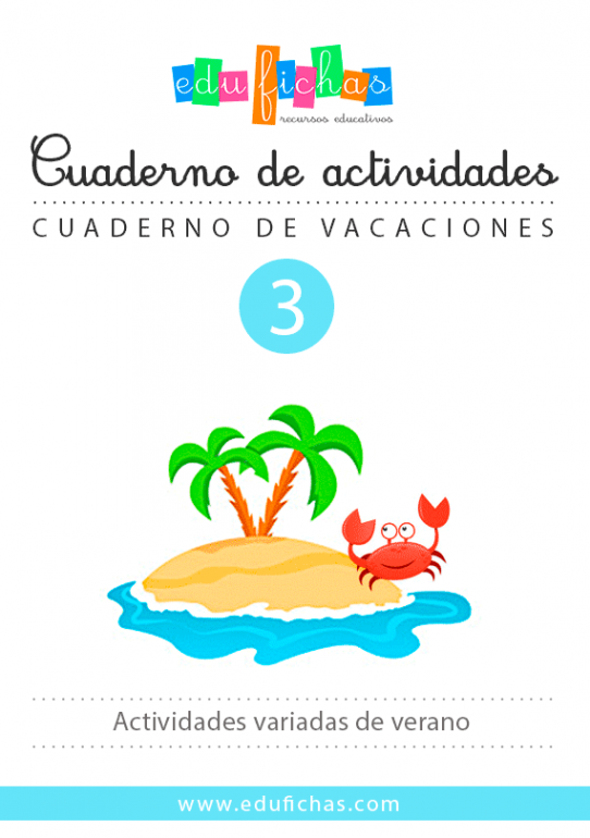 actividades de verano cuaderno 3
