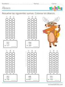 actividades sistema posicional números