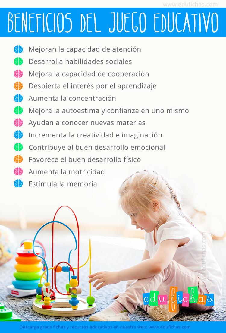 beneficios del juego educativo