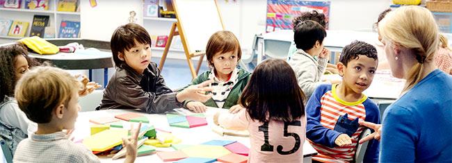 juego educativo en la escuela
