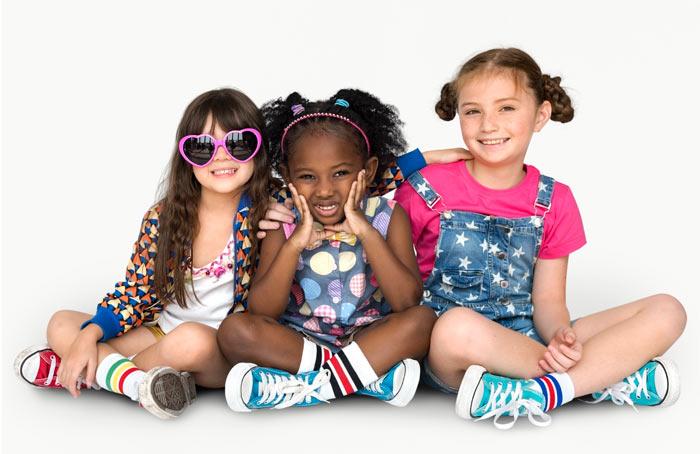 niños elegir su ropa