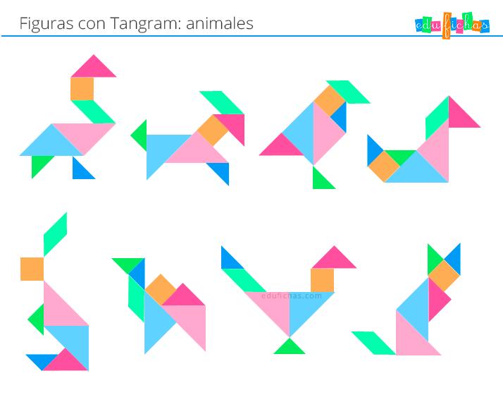 tangram animales