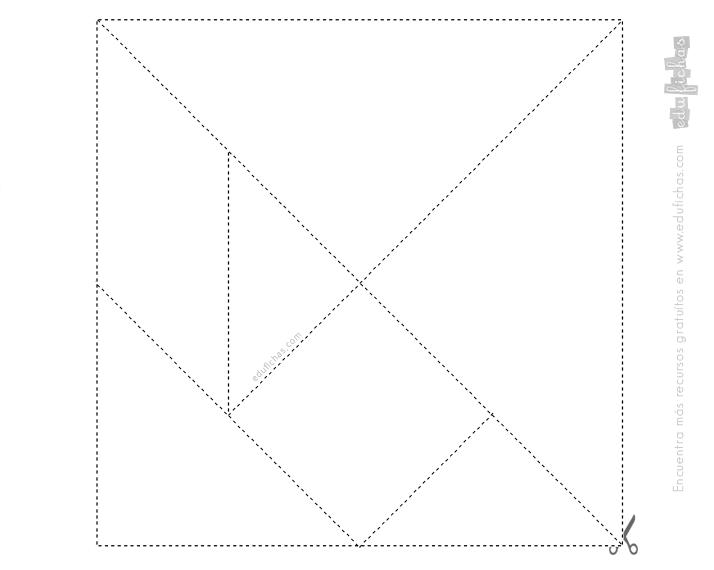tangram plantilla