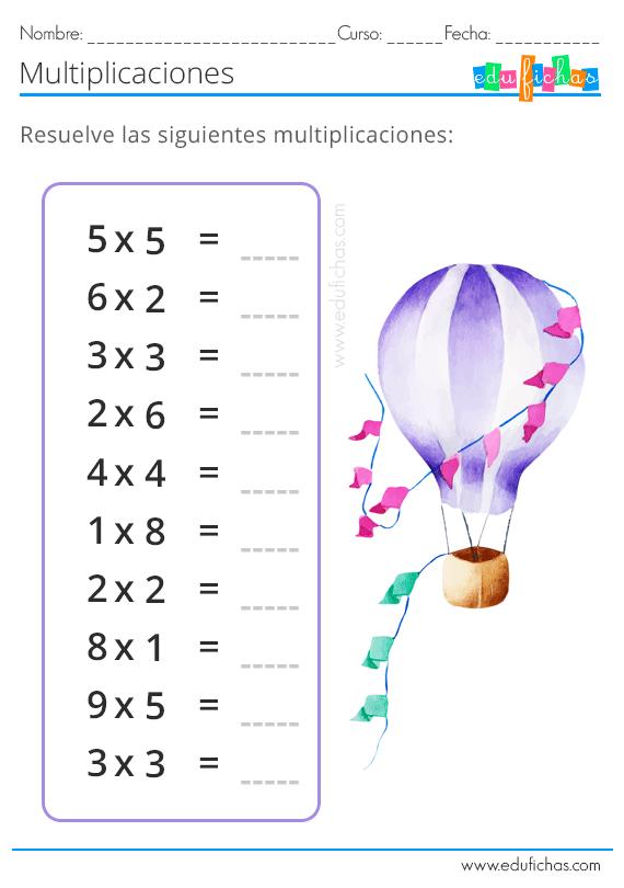 Fichas de matemáticas para niños. Números, sumas, restas, y ...