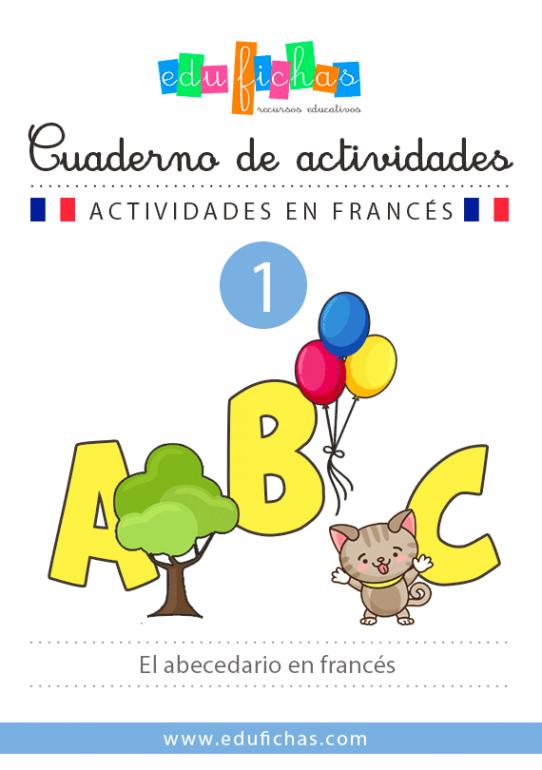 cuaderno del abecedario en francés