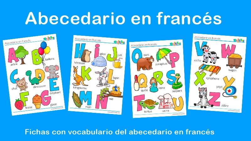 abecedario en francés