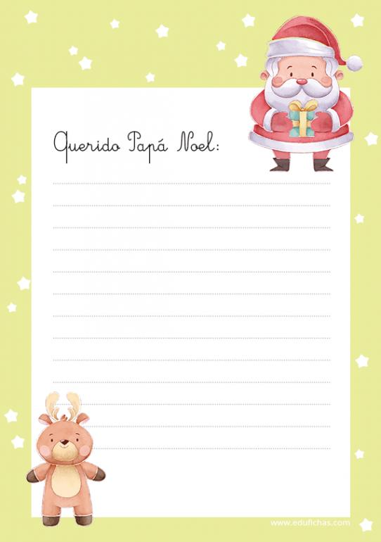 cartas pdf papa noel