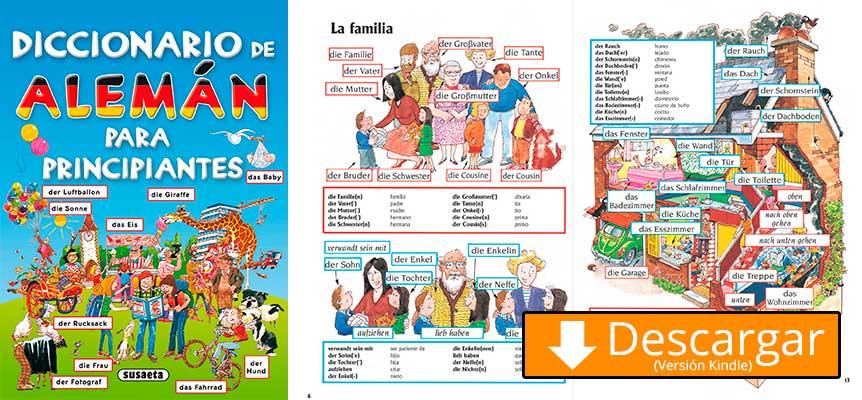 diccionario en aleman para niños