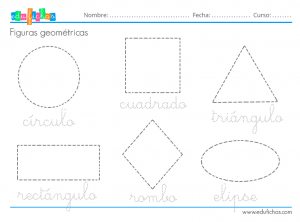 nombres de las figuras geométricas
