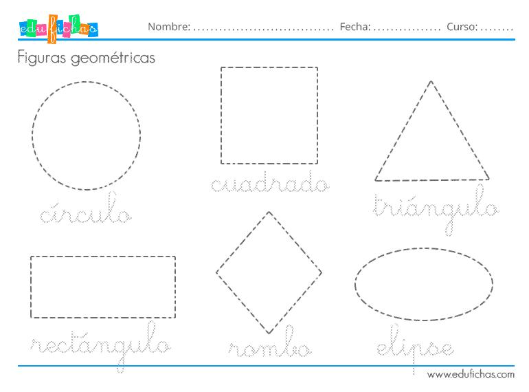 Figuras Geometricas Para Ninos Aprender Las Formas Edufichas Com