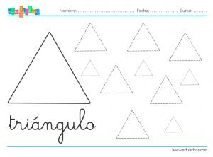 Ficha del triángulo