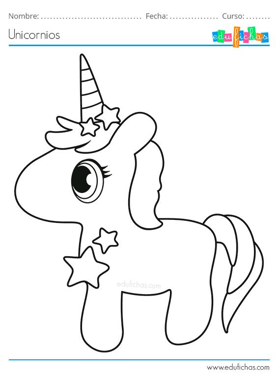 Dibujos Para Colorear De Unicornios Descargar Libro Para Colorear