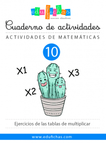 cuaderno de ejercicios de multiplicar
