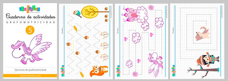 cuaderno de grafomotricidad pdf