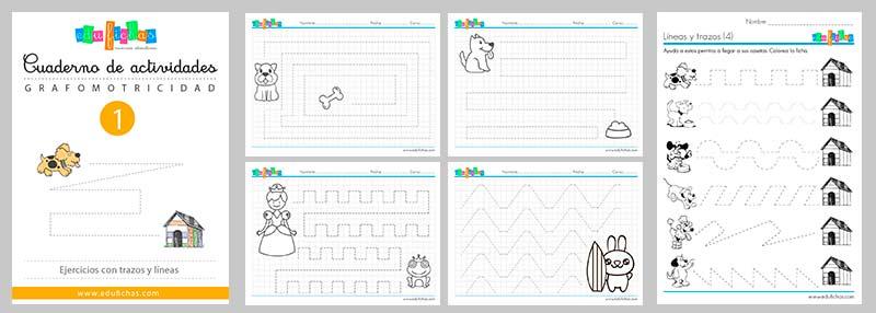descargar cuadernos de grafomotricidad en pdf
