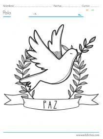 dibujos de la paz