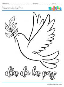 dibujos del dia de la paz
